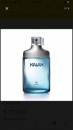 Kaiak Clásica Masculino - mL a $600