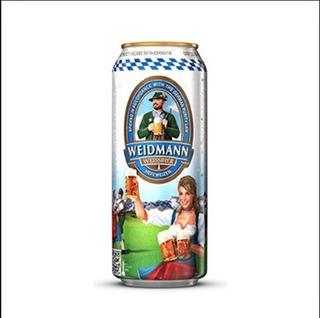 Cerveza Weidmann Trigo Lata 500ml. - Villa Del Parque