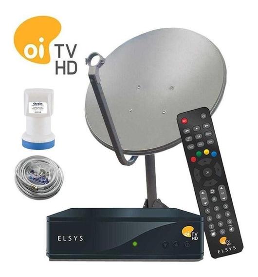 Kit Antena Digital Oi Livre Completa - Globo Hd