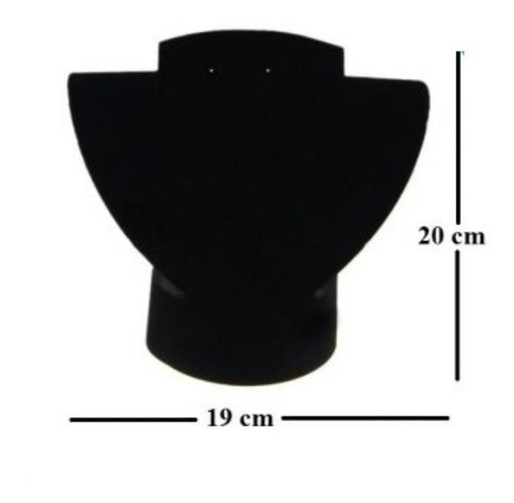 Exhibidor De Terciopelo Armable Para Collar