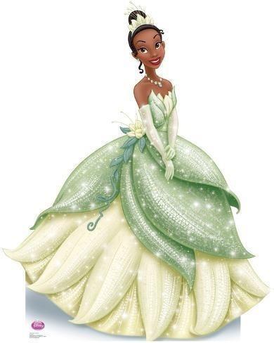 Delicada E Elegante!! Fantasia Da Princesa Tiana