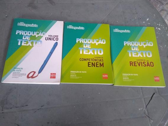 Livros De Produção Textual Ser Protagonista ( Usado )