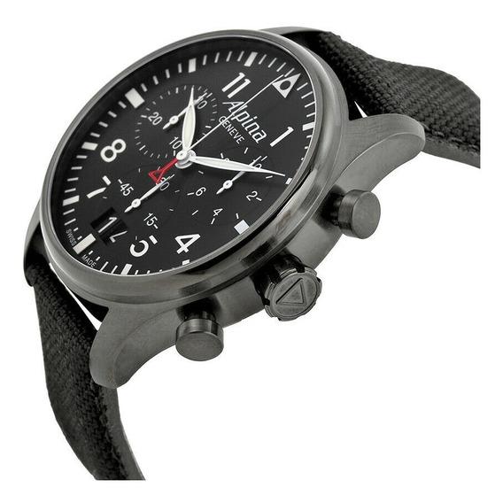 Alpina Startimer Pilot Chronograph Negro Dial Pre-al372b4fb