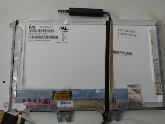 Display Lcd + Touch M101nwt2 + Bônus Flex E Câmera