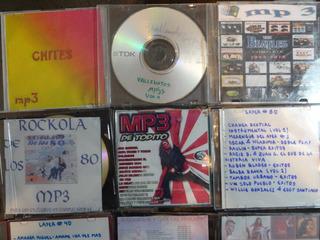 3 Pieza X2$ Cd Mp3 Chiste Vallenato Beatles Merengues Salsa
