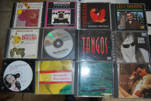Musica Cd Originales 3x1 Remate Lote 2