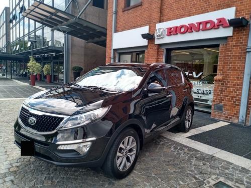 Kia Sportage Ex At, 4x2, 2015, Negra, 140000kms