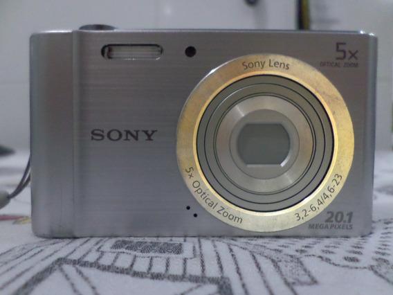 Câmera Digital Sony Cyber Shot De 20.1 Megapixels
