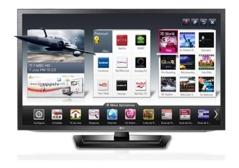 Smart Tv Lg 3d 47 47lm6200 - Apenas Para Pernambuco*
