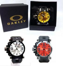 Relógio Masculino Oakley Gearbox+caixa