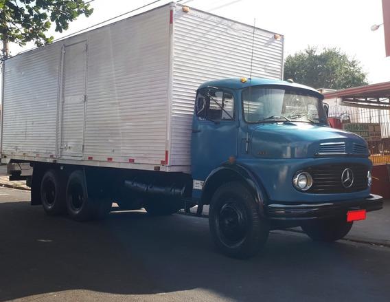 Mb 1113 (1111) Truck, Baú, Freio Estacionário E Direção Hid