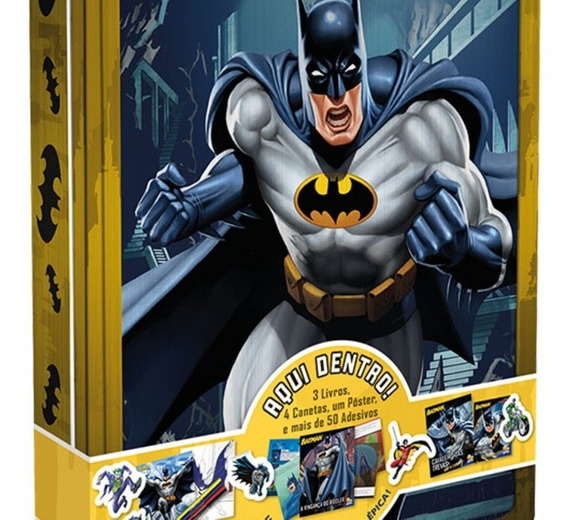 Aventuras Na Lata Batman Kit Infantil