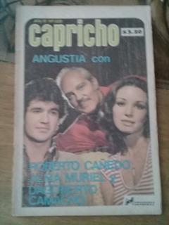 Alma Muriel Y Roberto Cañedo En Fotonovela Capricho Chica