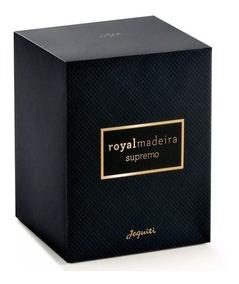 Jequiti Royal Madeira Supremo Deo Parfum Masculino -75ml