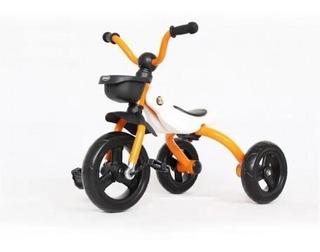 Bicicleta Para Niños Tres Rueda Amarillo Plegable