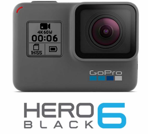 Go Pro Hero 6 + Cartão 64gb + Bastão - Baixouu