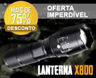 Lanterna Tática Militar Modelo X800 - Led Creed T6