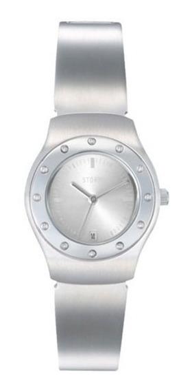 Relógio Feminino Usado Storm Dranar Aço Pequeno Barato Prata