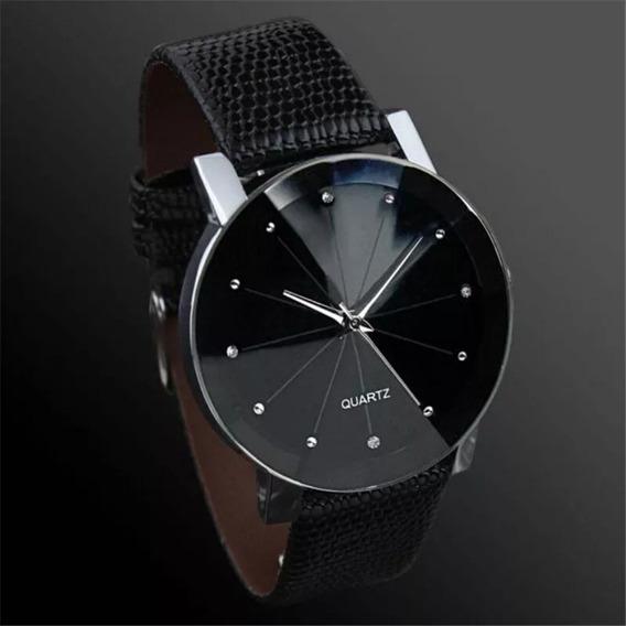 Relógio Masculino Casual Luxo Ultra Fino Quartz Original