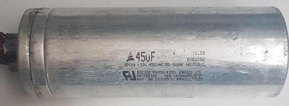5 Unid. Capacitor 45uf X 450v