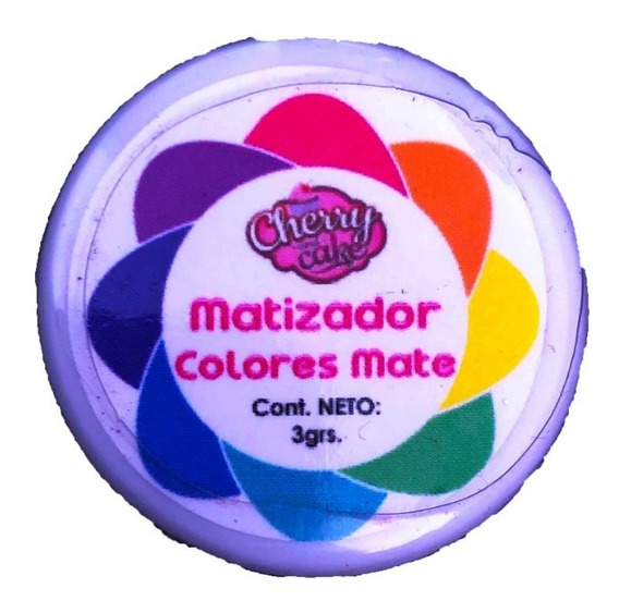 Matizadores Comestibles Colores Mate Cherry And Cake 3gr