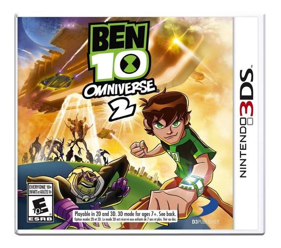 Jogo Novo Lacrado Ben 10 Omniverse 2 Para Nintendo 3ds