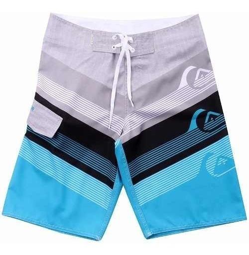 Kit 5 Shorts Masculino Tactel Tamanho Especial Do 2 Até 58
