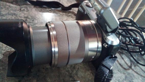 Camera Fotogáfica Sony Alpha Nex C3 (muito Bem Conservada,)