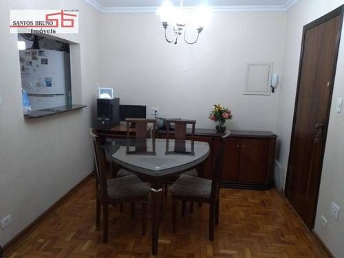 Apartamento Com 2 Dormitórios À Venda, 65 M² Por R$ 425.000,01 - Vila Romana - São Paulo/sp - Ap3205