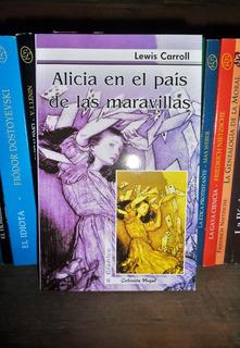 Alicia En El País De Las Maravillas Y Espejo Carroll X2