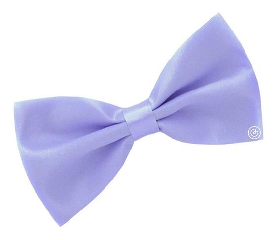 Corbata De Moño Liso Para Hombre Grin Accs Color Lila