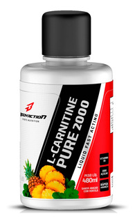 Carnitina L- Carnitine Pure 2000 Líquido 480ml Bodyaction