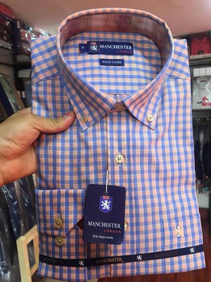 Camisas Manchester Grandes Manga Larga