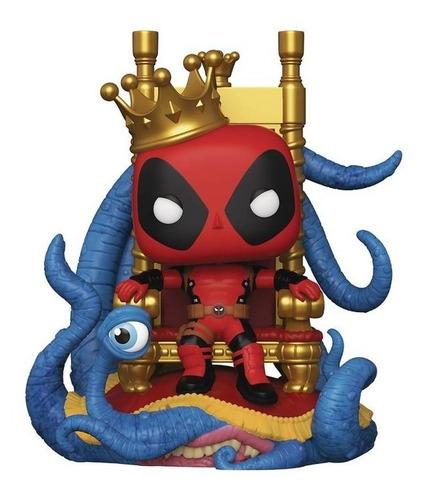 Imagen 1 de 2 de Funko Pop! King Deadpool Trono #724 Edición Especial Deluxe!