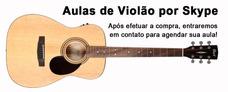Aulas De Violão Por Skype Para Todo O Brasil