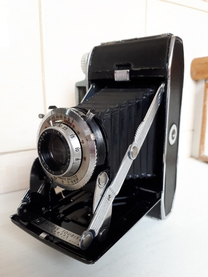 Antiga Camera Fotografica Kodak Tourist - Rara.