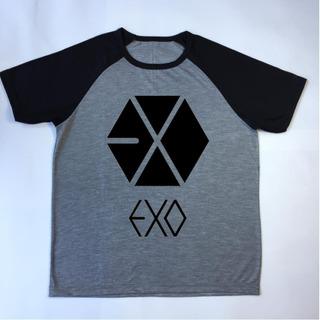 Camiseta Raglan Banda Exo Kpop