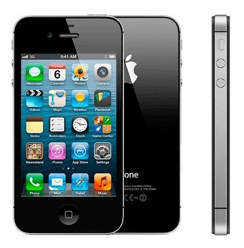 iPhone 4s - 5,3 Gb - 9.3.5 (13g36) - Mf263br/a - Claro -