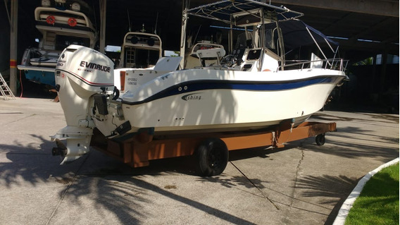 Lancha Fishing 26,5 Motor 250 Hp Etec