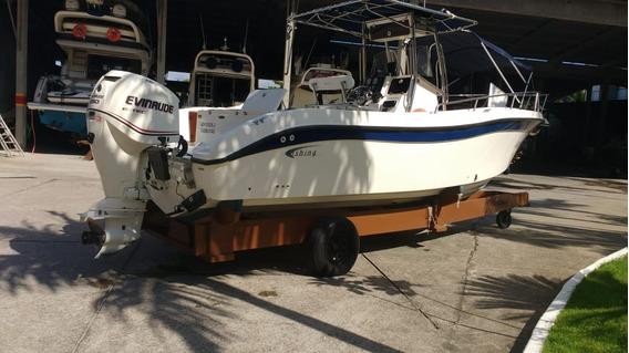Lancha Fishing 26,5 Motor 250 Hp Etec