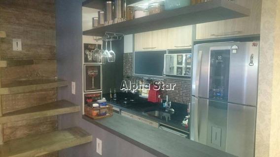 Apartamento Duplex, Lindo, Pronto Para Morar, Porteira Fechada, Venda - Le Parc - Jandira/sp - Ad0001
