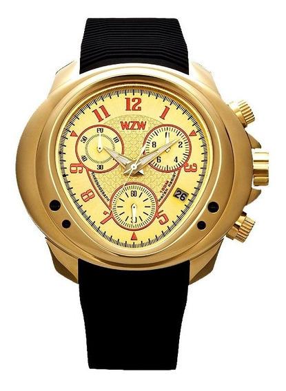 Relógio De Pulso Wzw Clássico 7202