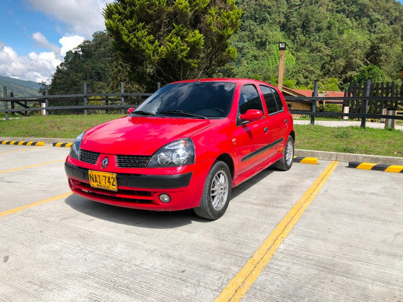Renault Clio Motor 1.4 2005 Rojo 5 Puertas