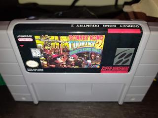 Donkey Kong Country 2 Super Nintendo Snes Repro