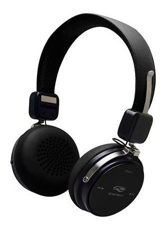 Fone De Ouvido Bluetooth 4.2 C3tech Ph-b600 Preto