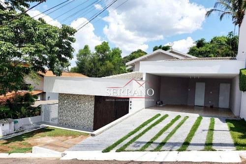Imagem 1 de 30 de Casa Com 3 Dormitórios À Venda, 306 M² Por R$ 1.530.000,00 - Condomínio Villagio Capriccio - Louveira/sp - Ca0456