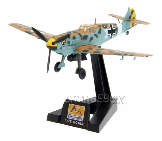 Avião Bf-109e-7/trop 1/jg27 Marseille 1:72 Easy Model