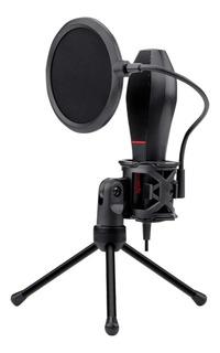 Microfono Pc Redragon Quasar Gm200 Tripode Usb Streaming