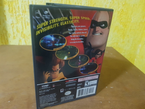 The Incredibles Usado Original Nintendo Game Cube Mídia Físi