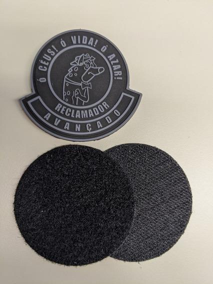 Reclamador Avançado - Patch Velcro Silicone Militar Tático